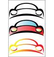 Car logo design vector image