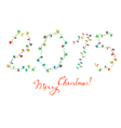 2015 written by garlands vector image vector image
