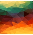 Abstract 2D geometric colorful background vector image vector image
