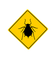 Aphid warning sign