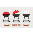 barbecue concept vector image vector image