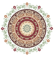 circle ornament version vector image vector image