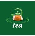 logo tea vector image vector image