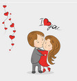 love couple vector image vector image