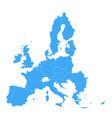 political map of european union eu member states vector image vector image