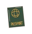 a hand drawn passport vector image