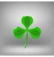 Green Leaf Clover vector image vector image