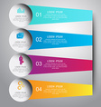 infographic business template design Can be used vector image vector image