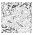 Orlando Vacation Villas To Step Up The Luxury On vector image vector image