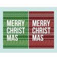 pixel Christmas winter pattern vector image vector image