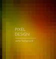 Pixel Design vector image