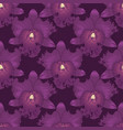 seamless floral pattern orchids flower with vector image vector image