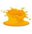 sweet dairy cream vector image vector image