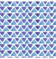 triangle watercolor pattern vector image vector image