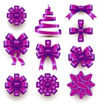 Christmas Bows vector image