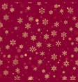 Christmas seamless pattern from white snowflakes