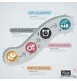 Flat Infographic Design vector image vector image