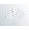 modern cloud design background Eps 10 vector image