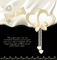 satin fabric holiday background vector image