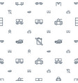tank icons pattern seamless white background vector image vector image