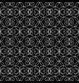 vintage line art tracery seamless pattern vector image vector image