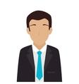 man adult suit tie vector image
