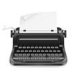 typewriter old retro vintage icon stock vector image