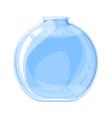 Empty Elixir Bottle vector image vector image