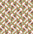 geometry rhombus seamless pattern vector image vector image