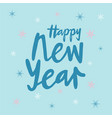 new year for calendar poster greeting card banner vector image vector image