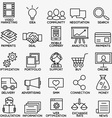 set seo and internet service icons - part 1 vector image vector image