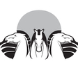 three horses vector image vector image