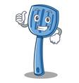 thumbs up spatula character cartoon style vector image vector image