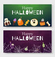 halloween cartoon for vector image