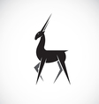 images of deer design vector image vector image