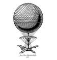 jean-pierre blanchard balloon vector image vector image