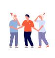 memory loss elderly dementia alzheimer disease vector image vector image