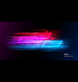 modern abstract neon sport background or collage vector image vector image