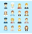Profession avatar vector image vector image