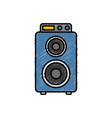 speaker box icon vector image vector image