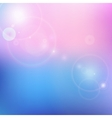 blur blue and pink background vector image