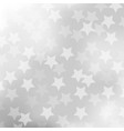 abstract gray background with star vector image vector image