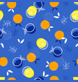 abstract pattern with fruit 2 vector image