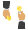 buying ideas concept vector image