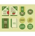 Farm Fresh Identity vector image vector image