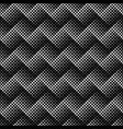 geometrical black and white square pattern vector image vector image