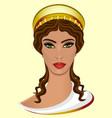 goddess hera vector image