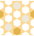 honeycomb abstract on yellow seamless pattern