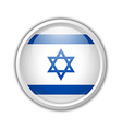 Israel badge vector image vector image