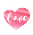 Love Brush lettering vector image